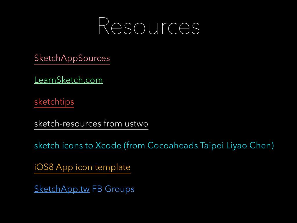 Resources SketchAppSources LearnSketch.com sket...