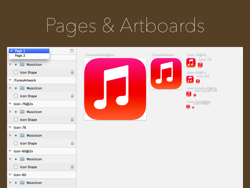 Pages & Artboards