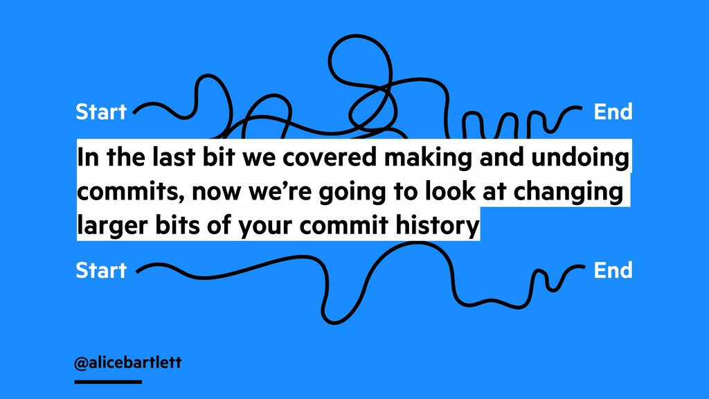 @alicebartlett Start End Start End In the last ...