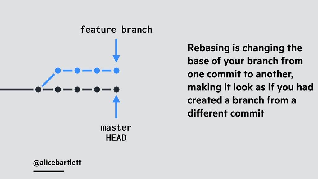 @alicebartlett feature branch master Rebasing i...