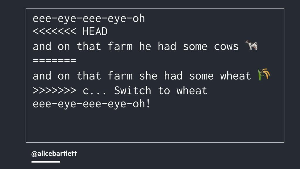 @alicebartlett eee-eye-eee-eye-oh <<<<<<< HEAD ...