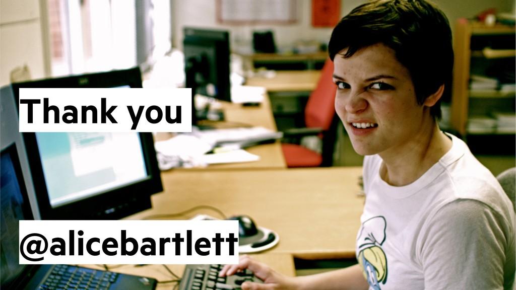 @alicebartlett Thank you @alicebartlett