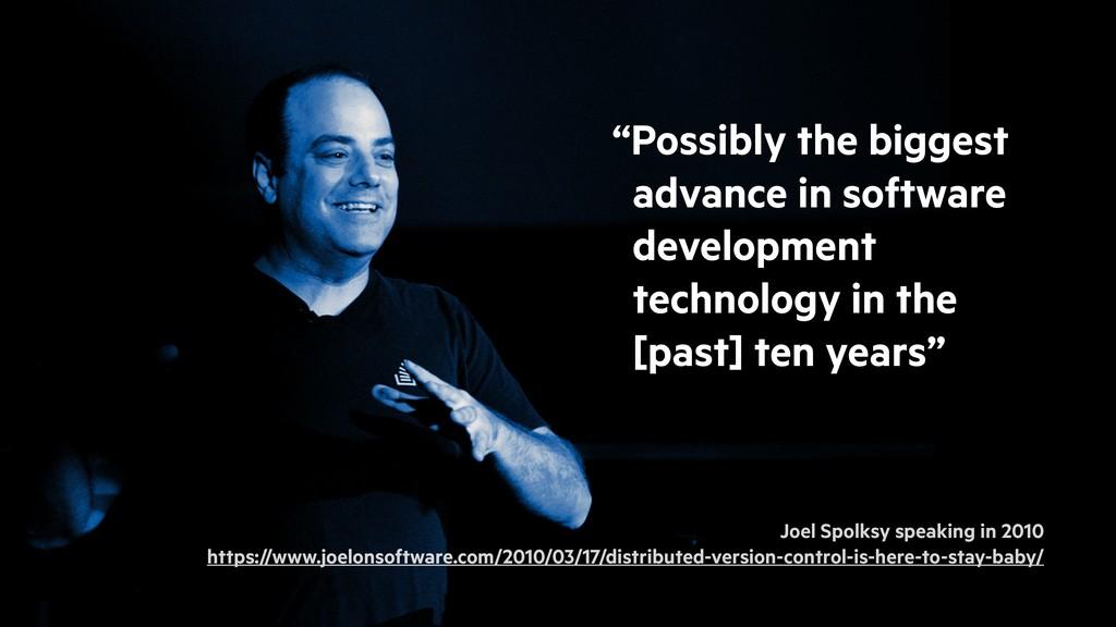 Joel Spolksy speaking in 2010 https://www.joelo...