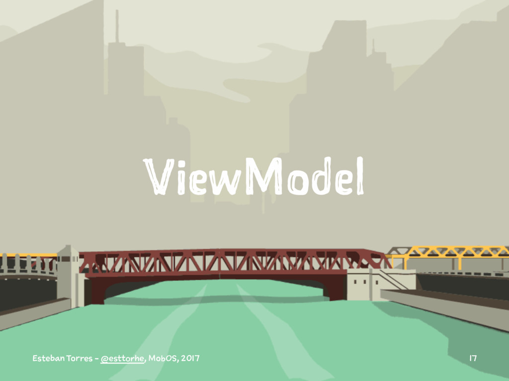 ViewModel Esteban Torres - @esttorhe, MobOS, 20...