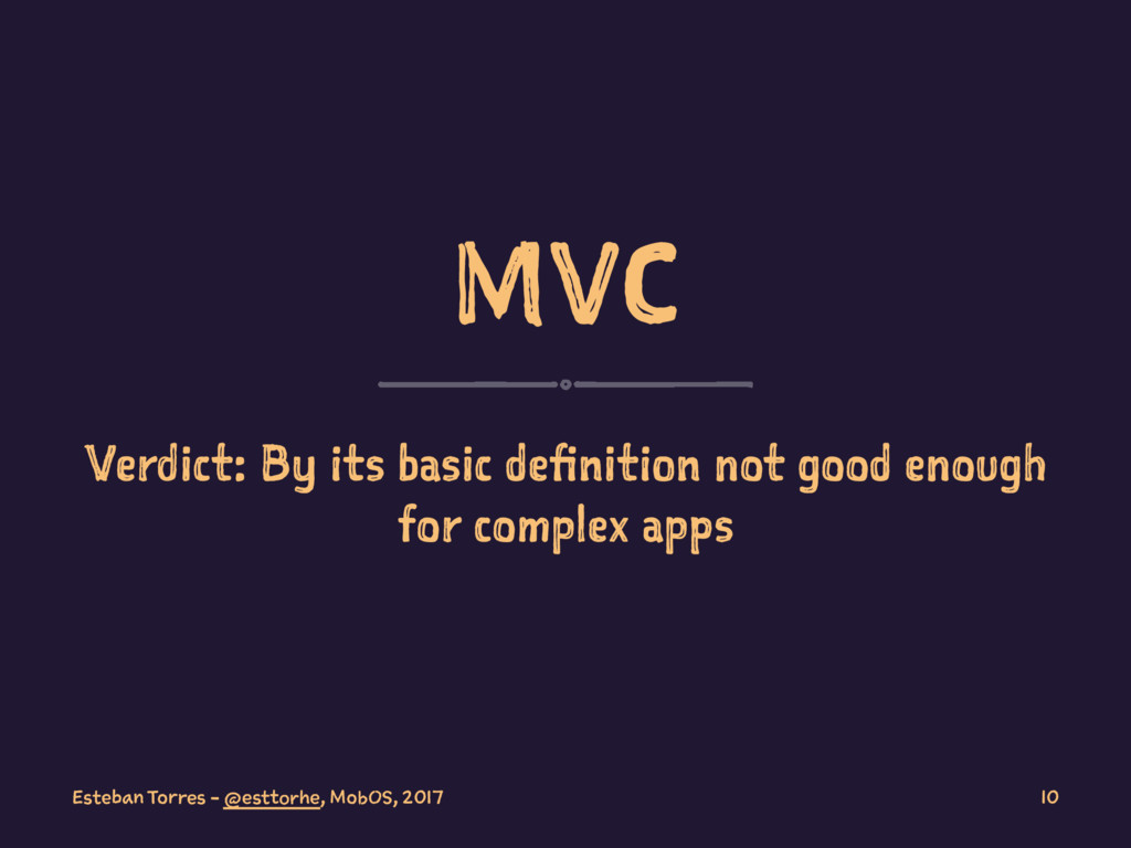 MVC Verdict: By its basic definition not good e...