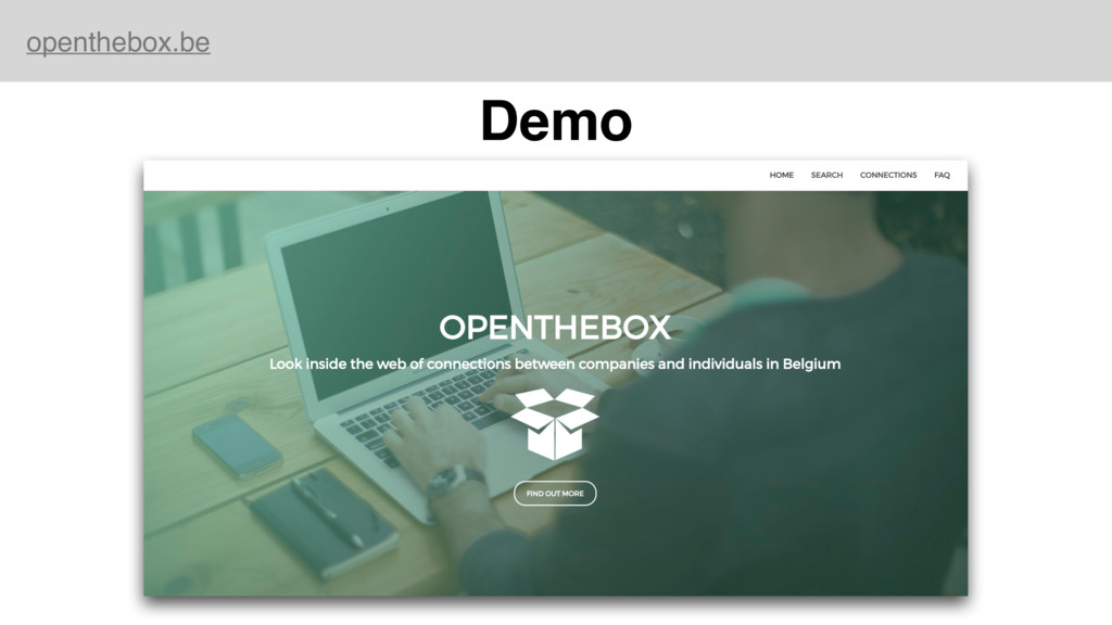 openthebox.be Demo