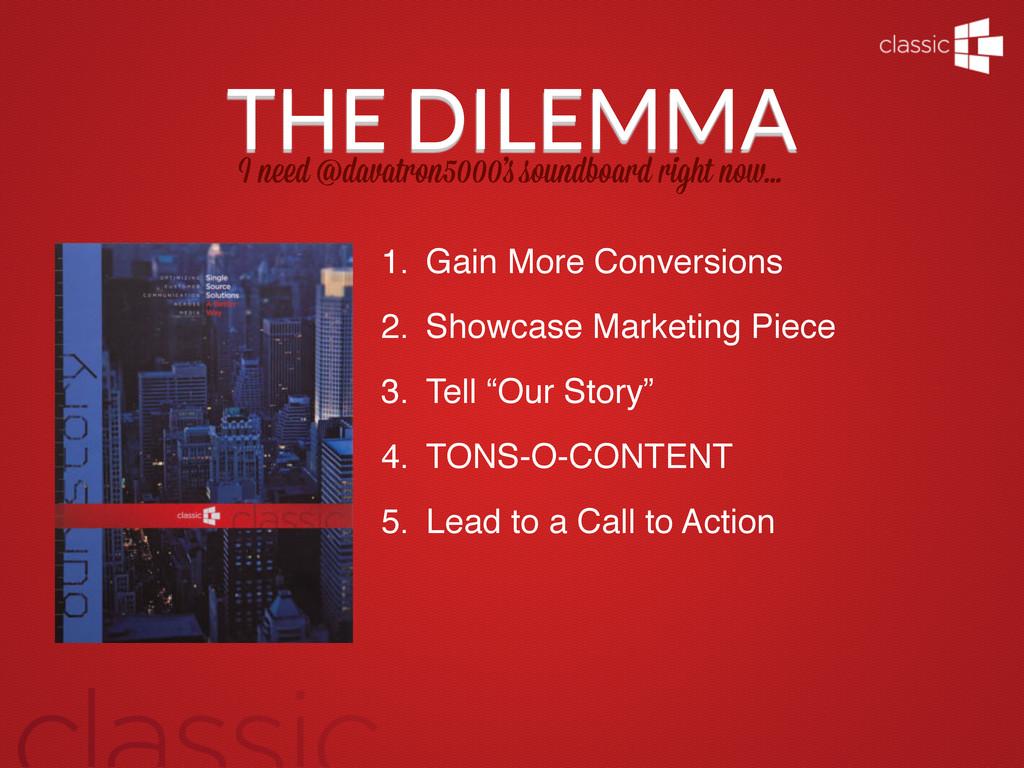 THE DILEMMA I n d @davatron5000' soundboard rig...