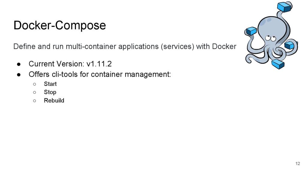 Docker-Compose Define and run multi-container a...