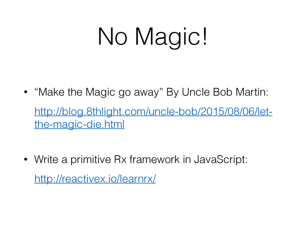 "No Magic! • ""Make the Magic go away"" By Uncle B..."