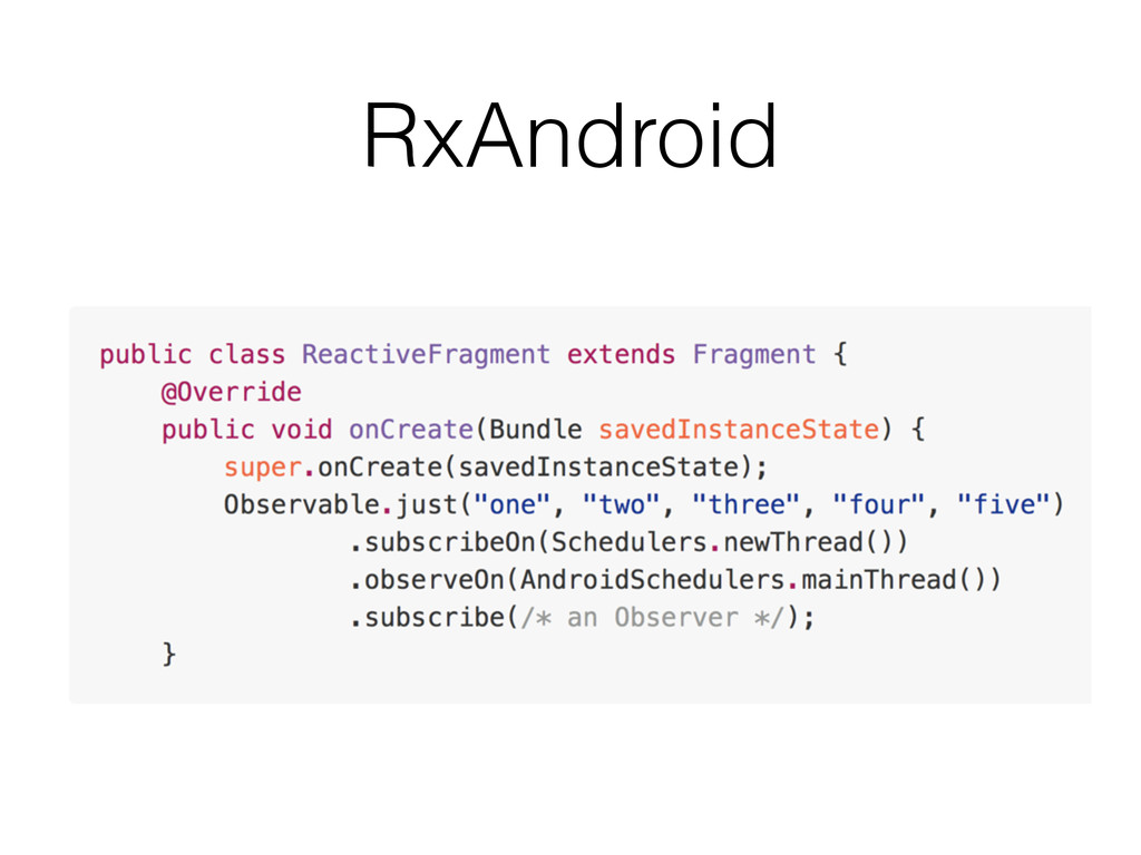RxAndroid