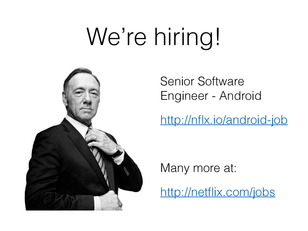 We're hiring! Senior Software Engineer - Androi...