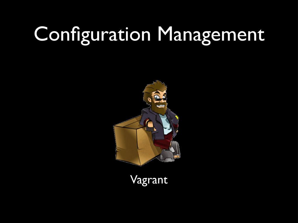 Configuration Management Vagrant