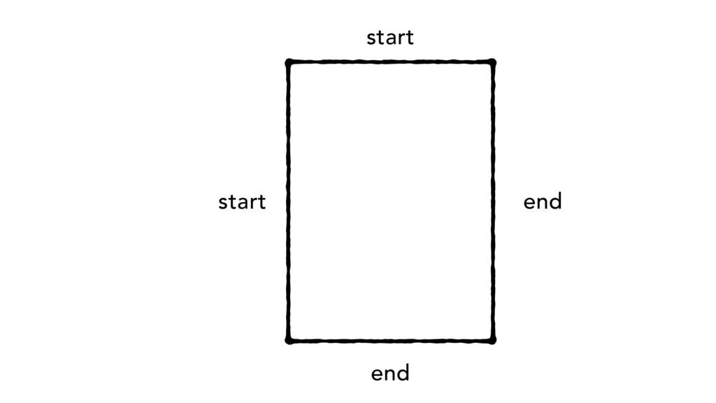 start start end end
