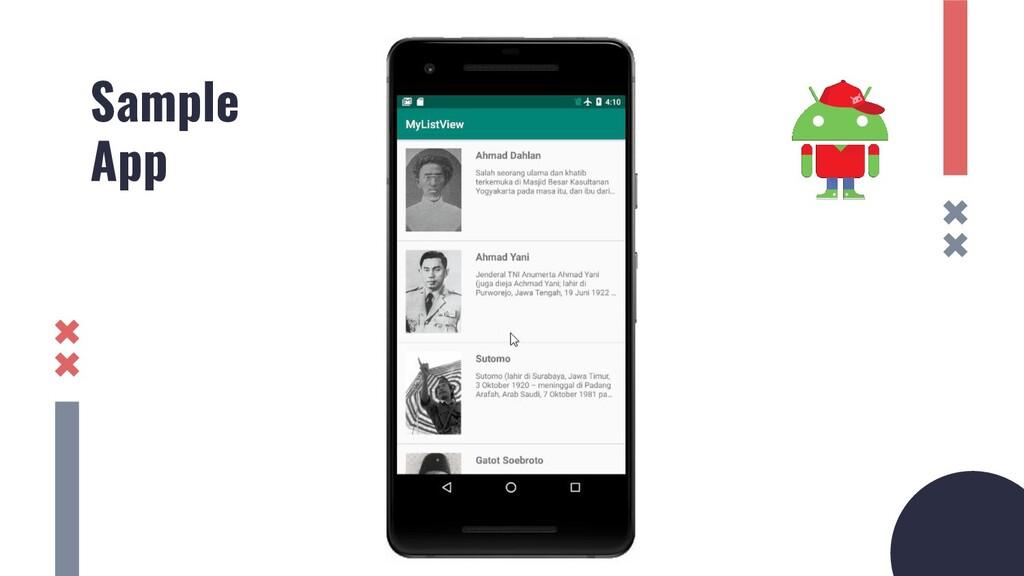 Sample App