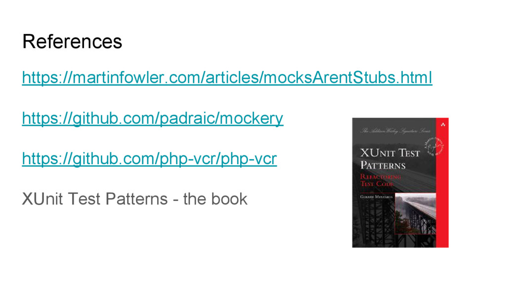 References https://martinfowler.com/articles/mo...