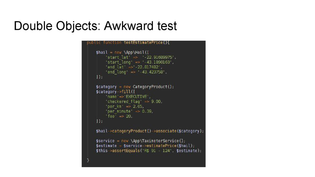 Double Objects: Awkward test