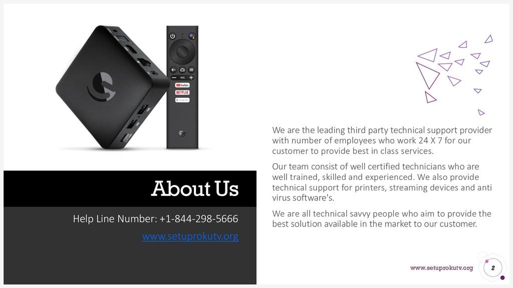 www.setuprokutv.org About Us Help Line Number: ...
