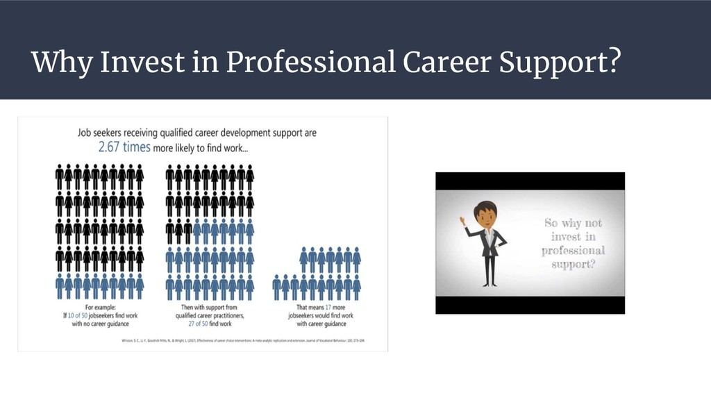 Why Invest in Professional Career Support?