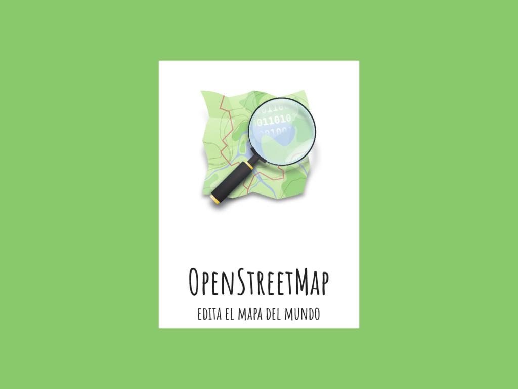 OpenStreetMap edita el mapa del mundo