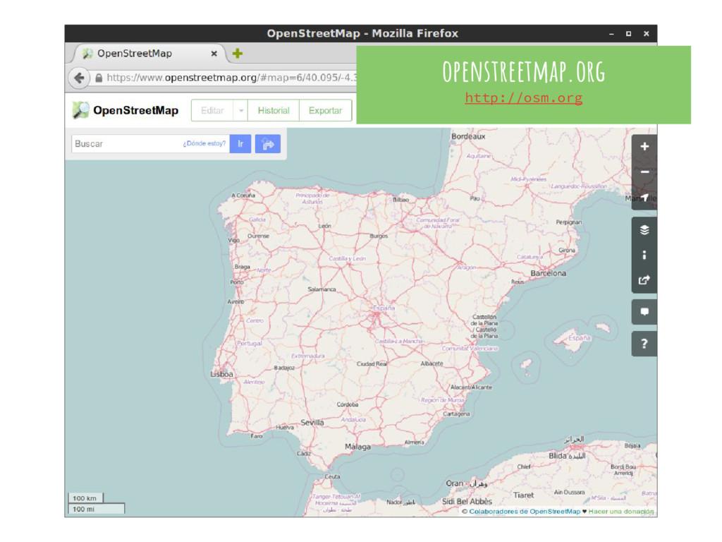 openstreetmap.org http://osm.org