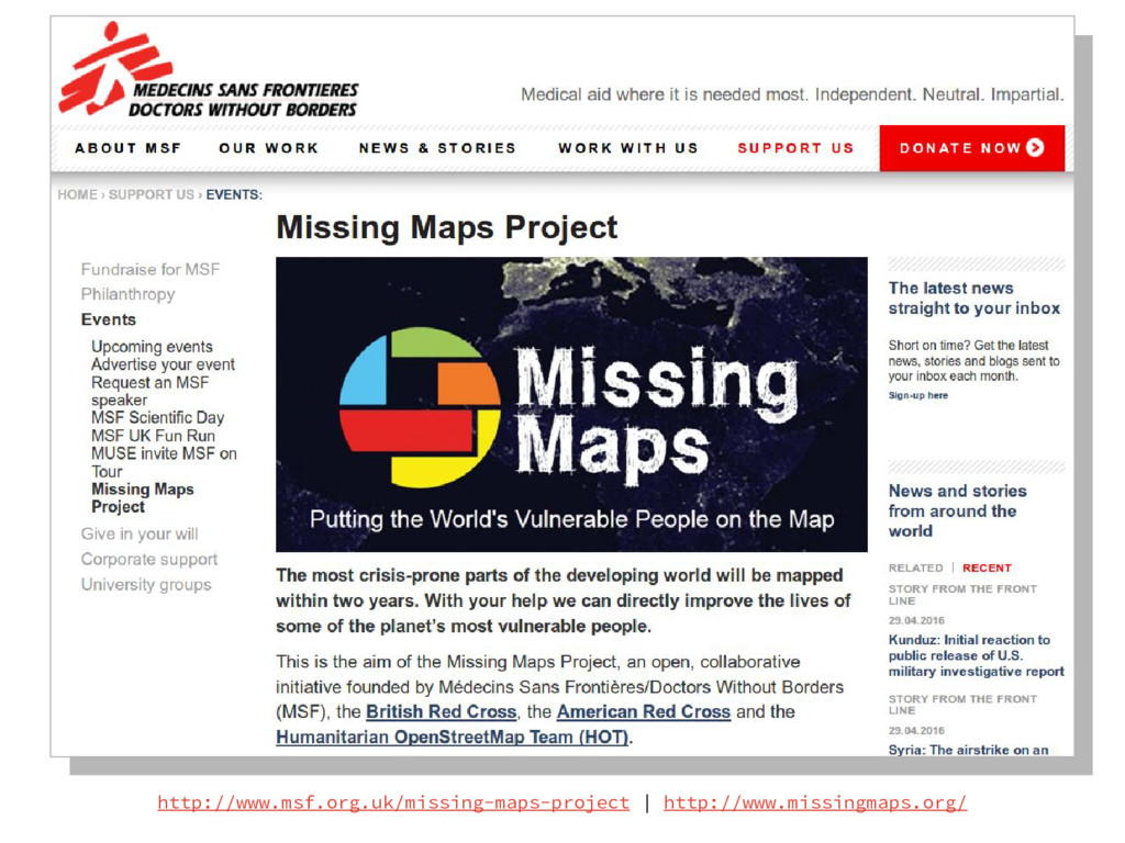 http://www.msf.org.uk/missing-maps-project | ht...