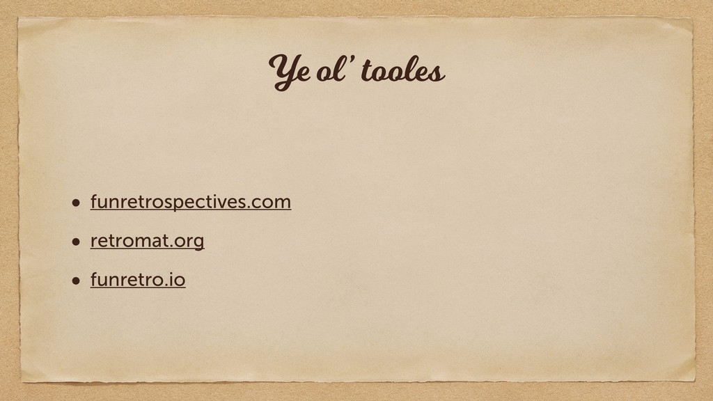 Ye ol' tooles • funretrospectives.com • retroma...