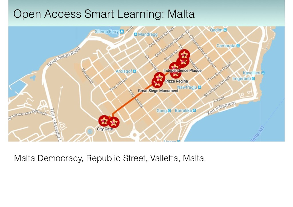 Malta Democracy, Republic Street, Valletta, Mal...