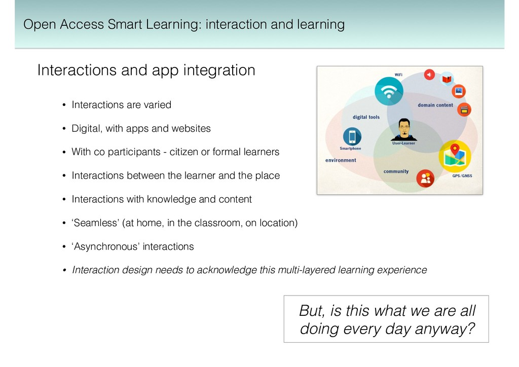 Interactions and app integration • Interactions...