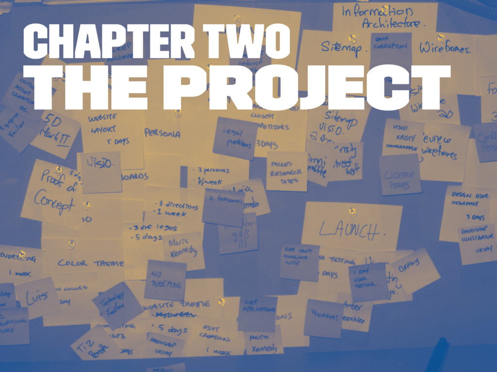 Chapter two The Project