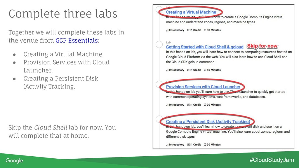 Together we will complete these labs in the ven...