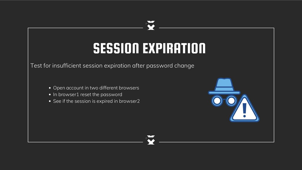 SESSION EXPIRATION Test for insufficient sessio...