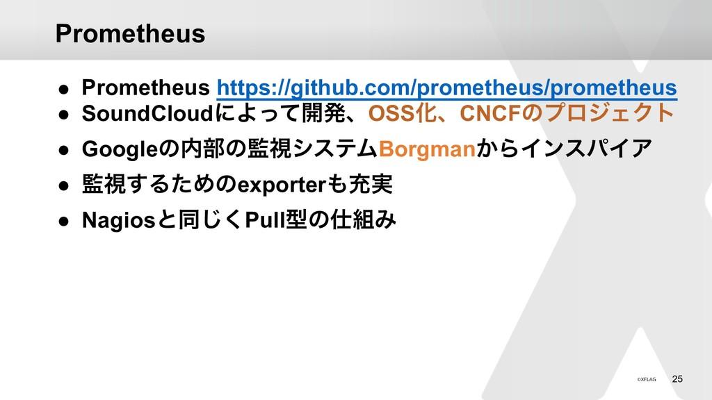 !25 Prometheus ● Prometheus https://github.com/...