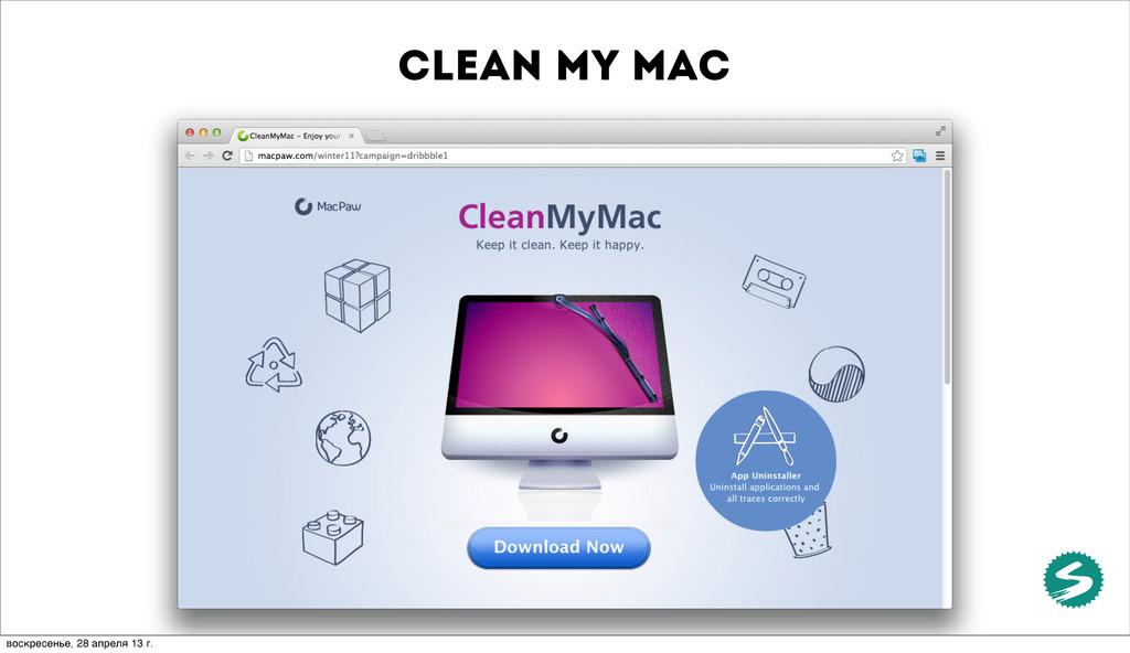 clean my mac воскресенье, 28 апреля 13 г.