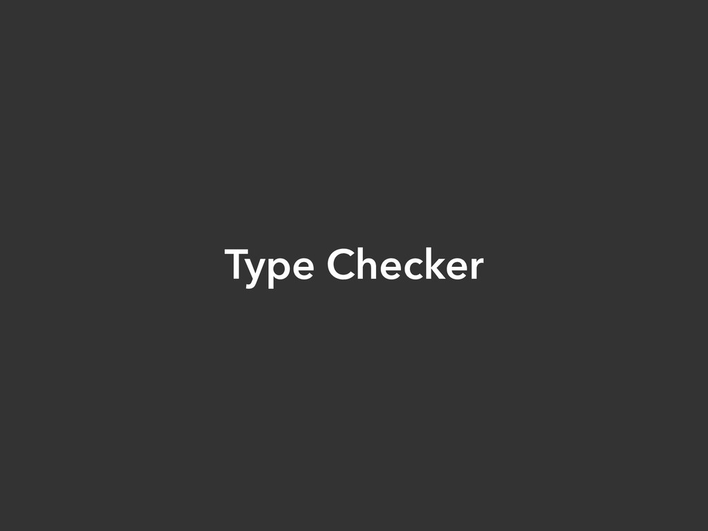 Type Checker