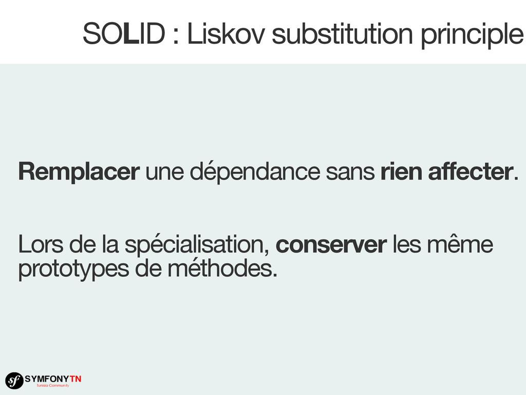 SOLID : Liskov substitution principle Remplacer...