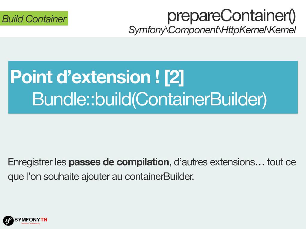 prepareContainer() Symfony\Component\HttpKernel...