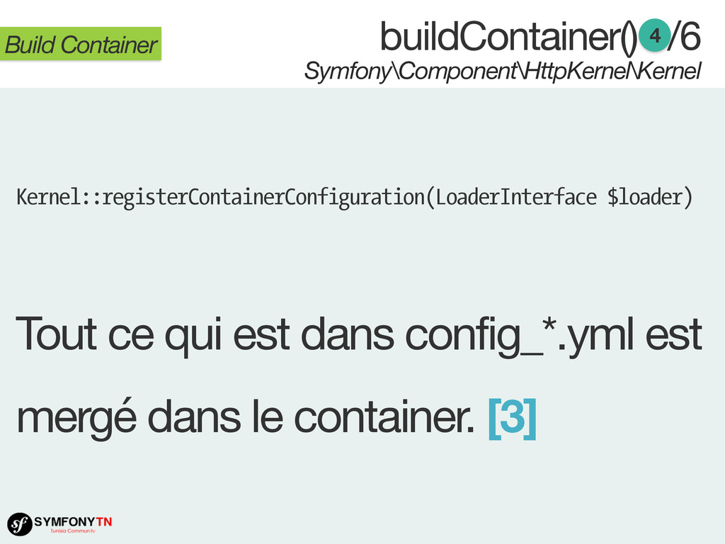 Symfony\Component\HttpKernel\Kernel Build Conta...