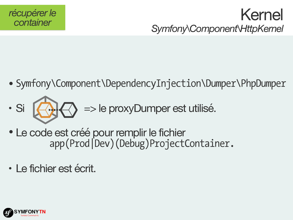 • Symfony\Component\DependencyInjection\Dumper\...