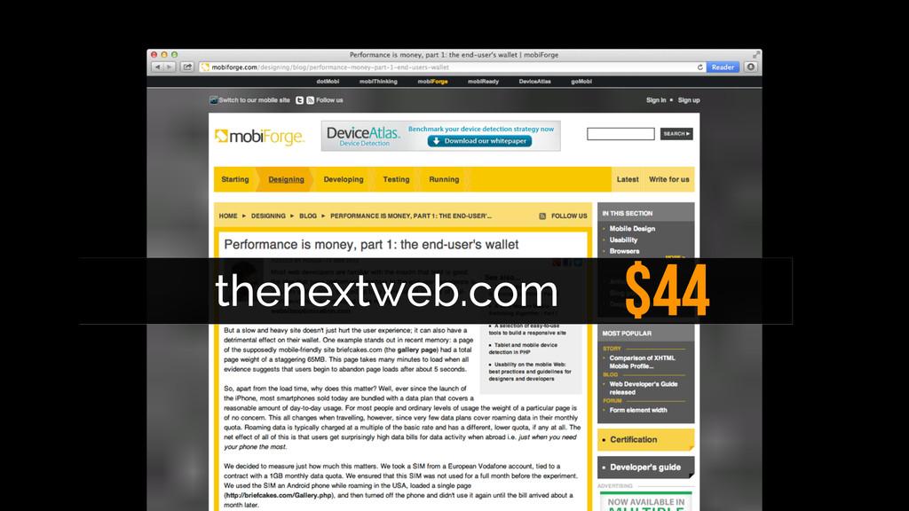 $44 thenextweb.com