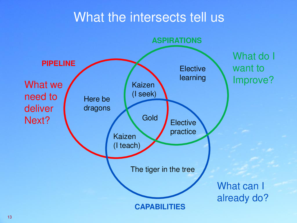 What the intersects tell us 13 What do I want t...