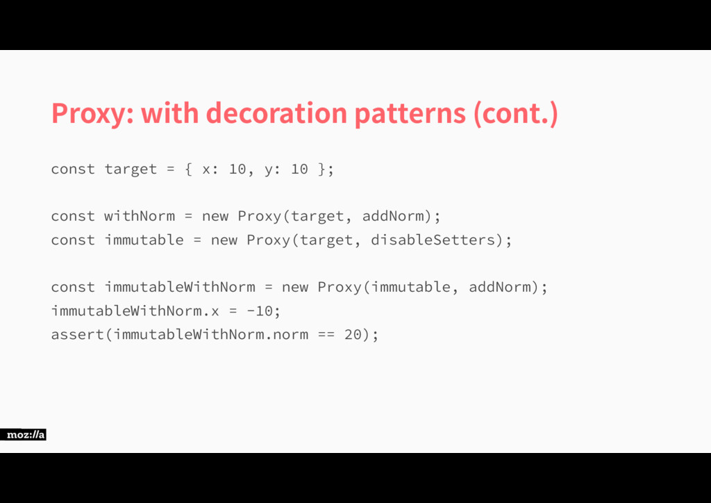 Proxy: with decoration patterns (cont.) DPOTUU...