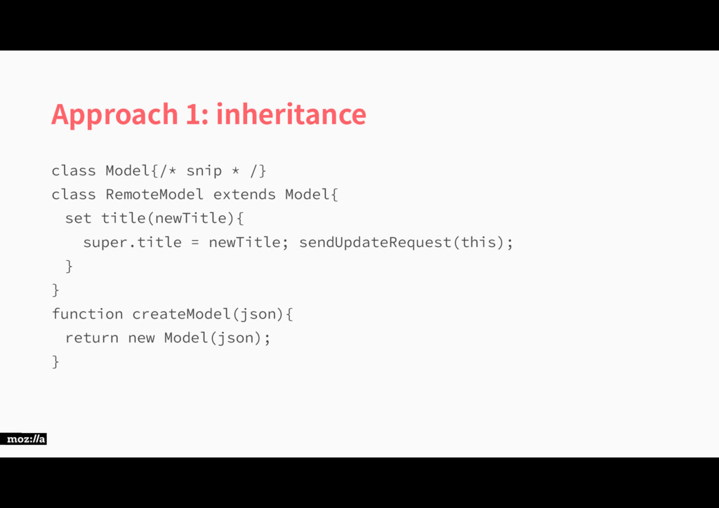Approach 1: inheritance DMBTT.PEFM\TOJQ...