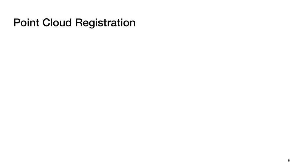 Point Cloud Registration 6