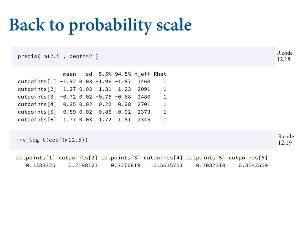 Back to probability scale Ȁ Ǣ /ʙ Ǣ ./-/ʙ'$...