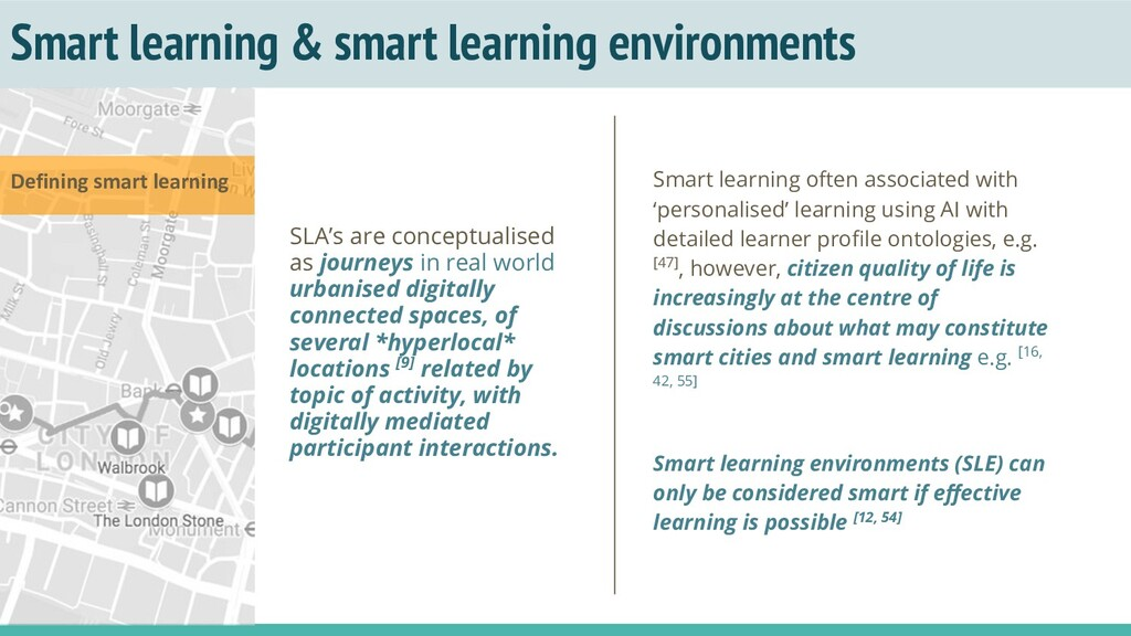 Smart learning & smart learning environments SL...