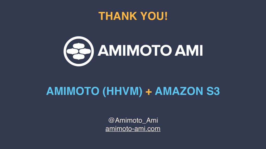 @Amimoto_Ami amimoto-ami.com THANK YOU! AMIMOTO...
