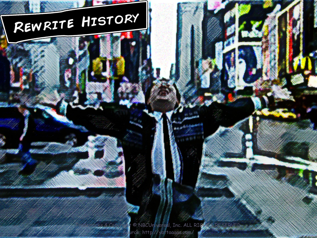 Rewrite History Trademarks & Copyright © NBCUni...
