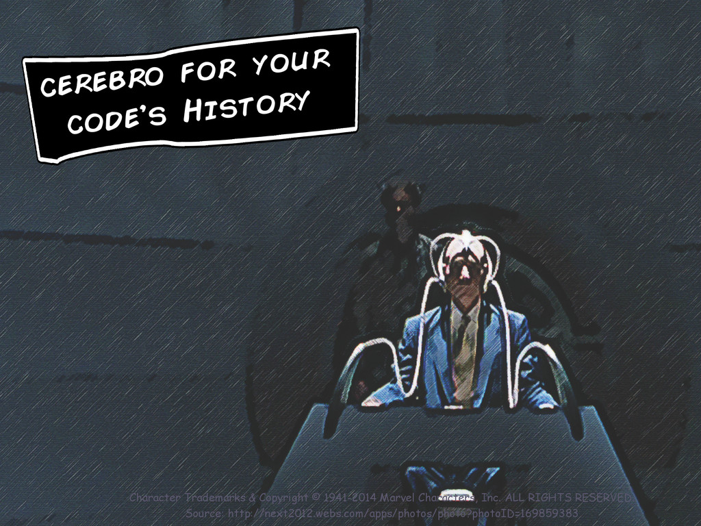 cerebro for your code's History Character Trade...