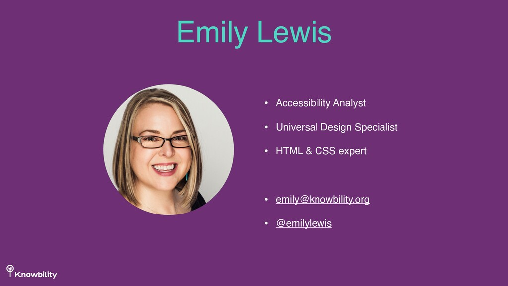 • Accessibility Analyst • Universal Design Spec...