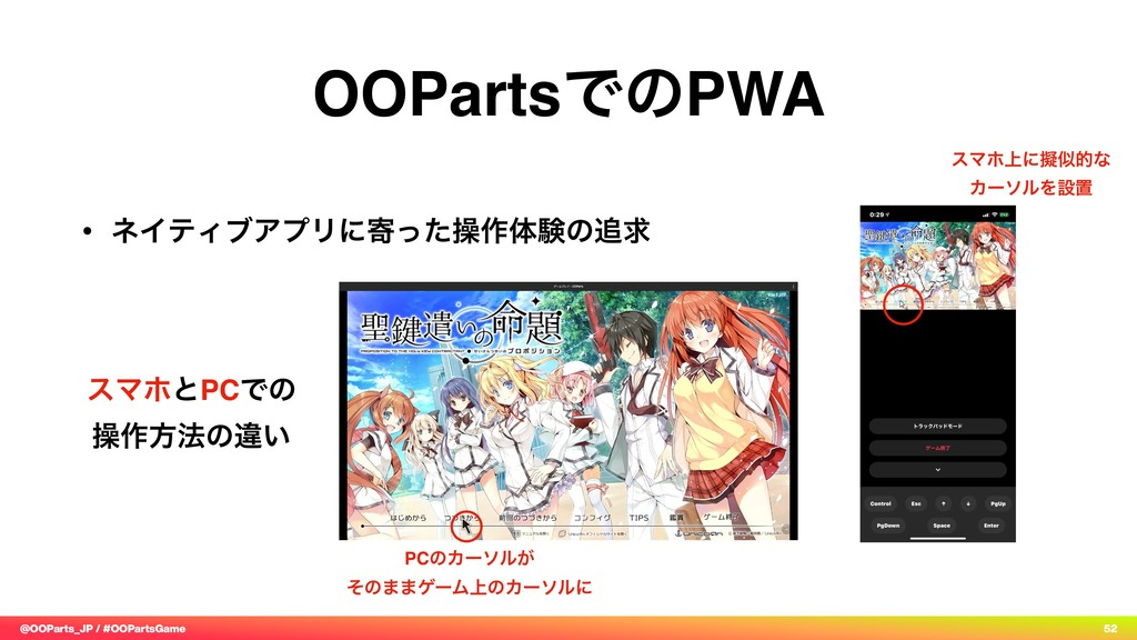 @OOParts_JP / #OOPartsGame 52 OOPartsͰͷPWA • ωΠ...